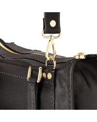 Ted Baker Black Hickory Stab Stitch Bag