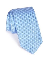 Robert Talbott Blue 'best Of Class' Check Silk Tie for men