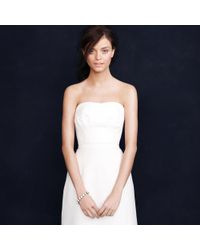 J.Crew White Miranda Gown