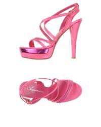 Acquamarine... - Pink Sandals - Lyst