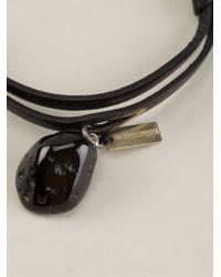 Ann Demeulemeester Black Kenya Bracelet