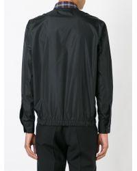 DSquared² Black Contrasting Panel Shirt for men