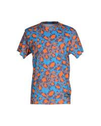ELEVEN PARIS - Blue T-shirt for Men - Lyst