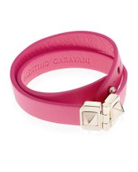 Valentino | Pink Double Wrap Bracelet | Lyst