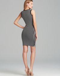 Ronny Kobo Black Tali Color Tile Dress