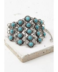 Forever 21 | Blue Faux Turquoise Bracelet | Lyst