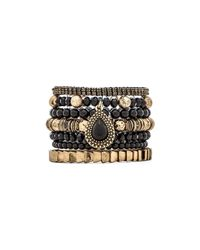Samantha Wills Black Moments By The Moonlight Bracelet Set