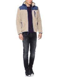 Penfield Natural Carson Fleece Jacket for men