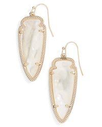 Kendra Scott Metallic 'sky Spear' Small Statement Earrings