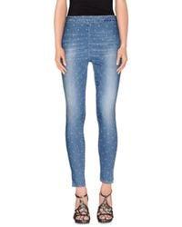 People - Blue (+) People Denim Trousers - Lyst