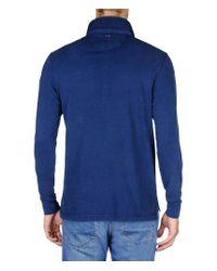Napapijri | Blue Long Sleeve T-shirt for Men | Lyst