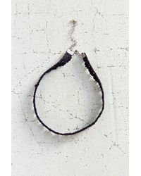 Urban Outfitters | Black Lace Choker Necklace | Lyst