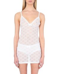 Passionata - White Let's Play Lace Slip - Lyst