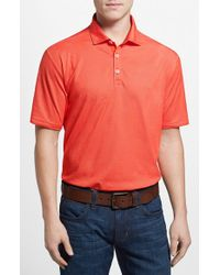 Tommy Bahama | Orange 'double Eagle Spectator' Island Modern Fit Polo for Men | Lyst