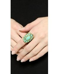Aurelie Bidermann | Blue Turquoise Ring | Lyst