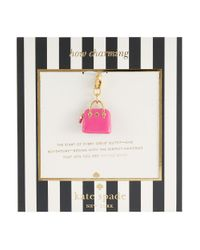 Kate Spade | Pink How Charming Maise Handbag Charm | Lyst