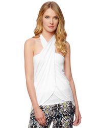 Ella Moss | White Bella Tie Top And Skirt | Lyst