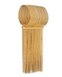 Chloé | Metallic Delfine Rigid Brass Chain Bracelet | Lyst