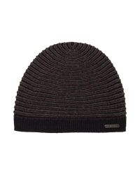 Ted Baker Multicolor Mini Stitch Beanie Hat for men