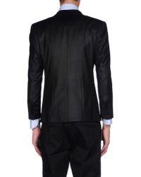 Karl Lagerfeld Black Blazer for men