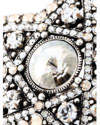Lanvin | Gray Star Ring | Lyst