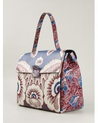 Valentino - Blue Floral Tote - Lyst