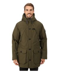 Penfield | Green Hoosac Hooded Down Mountain Parka for Men | Lyst