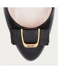 Bally Bellyna Women ́s Lamb Nappa Shoe In Black