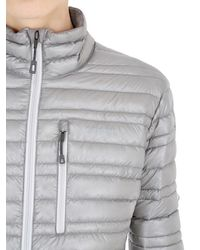 Patagonia Gray Ultralight Down Jacket