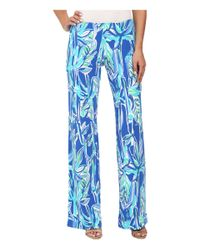 Lilly Pulitzer - Blue Georgia May Palazzo - Lyst