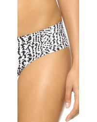 Calvin Klein - Black Invisibles Printed Hipster - Introspective Skin Print - Lyst