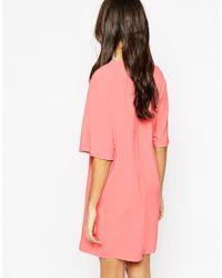 Vero Moda - Natural Wrap Dress - Lyst