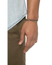 Caputo & Co. - Brown Hand Braided Feel Good Bracelet for Men - Lyst