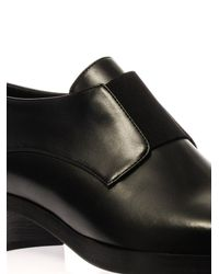 Stella McCartney Black Frankie Faux-Leather Loafers