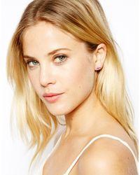 Cath Kidston | Pink Bow Earrings | Lyst