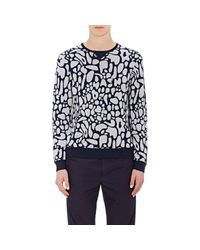 Tim Coppens | Blue Men's Mushroom-top-intarsia Sweater for Men | Lyst