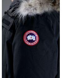 Canada Goose Black 'Langford' Parka for men