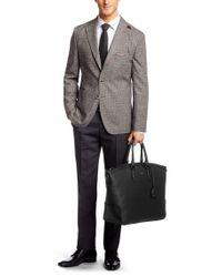 BOSS Black 'meson' Leather Shopper for men