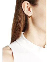 Vita Fede - Metallic Double Titan Gold-plated Pearl Earrings - Lyst