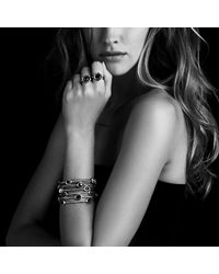 David Yurman | Yellow Color Classics Four-station Bangle With Crystal | Lyst