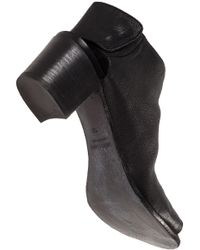 275 Central | Black Block-Heel Leather Boots | Lyst
