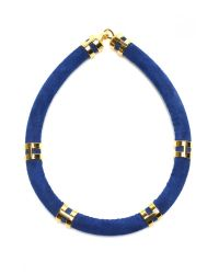 Lizzie Fortunato | Blue Cobalt Double Take Necklace | Lyst