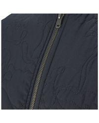 YMC - Blue Men'S Quilted Bomber Jacket for Men - Lyst
