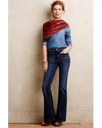 Pilcro - Blue Superscript Flare Jeans - Lyst