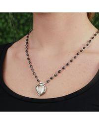 Monique Péan Black Herkimer Diamond Necklace