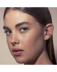 Pamela Love | Pink Tribal Spike Faux Ear Cuff/septum Ring | Lyst