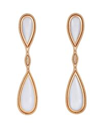 Fernando Jorge | Metallic Fluid Diamonds Drop Earrings-Colorless | Lyst