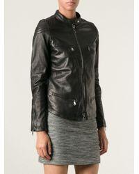 Giorgio Brato - Black Zipped Jacket - Lyst
