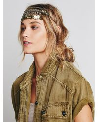 Free People | Metallic Festive Coin Headpiece | Lyst
