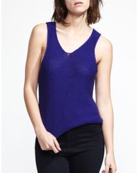 Wool And The Gang | Purple Venice Vest | Lyst